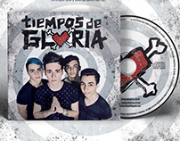 """Tiempos de Gloria"" logo y CD cover"