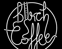 Birch Coffee Logo and Cup Redesign