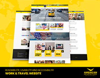 Work & Travel Website