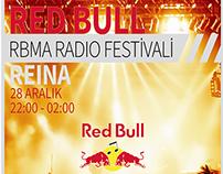 Redbull RBMA Radio Festival Poster
