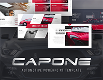 Capone Automotive Presentation Template