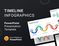 Timeline Infographics – PowerPoint Template