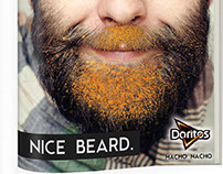 Doritos Beard Ads