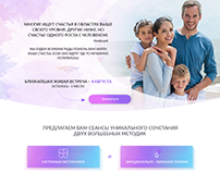 Landing page/Program for the psychologist
