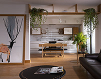 APARTMENT WITH DEERS / ALENA YUDINA