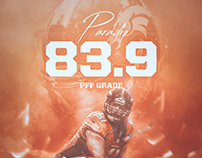 @vaynersports Matt Paradis Artwork | By Grant Thomas