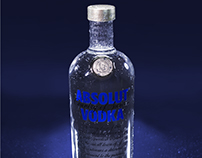 ABSOLUT VODKA - Product photography