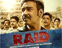 RAID The Film Poster work