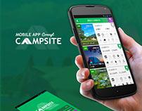 Campsite App Concept