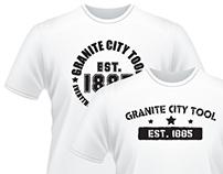 Granite City Tool Shirt Logo Designs