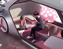 Yanfeng Interior Design Competition_The Giving Tree