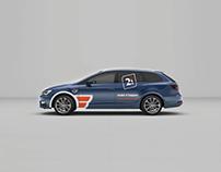 Rotulación vehículo empresa