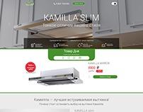 Krona landing page design