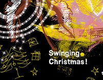 Christmas greetings over the years: 2009 graphic design