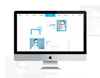 CVitae - Responsive Materialized Resume Intro 5