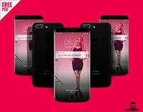 IPhone 8 Design Mockup PSD Free Download
