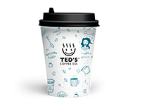 TED'S Coffee Co. - Brand Identity Design