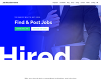 Job Requirter Website