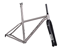 Wittson cross country 27.5er / 29er titanium frame set