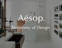 Aēsop Taxonomy of Design