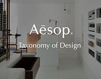 Aēsop Taxonomy of Design