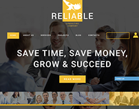 Financial Joomla Template