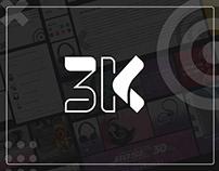 3K Shop - Branding Project