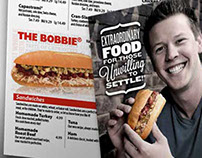 Capriotti's Menu Design