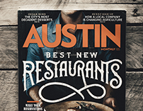 AUSTIN MONTHLY | COVER DESIGN
