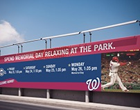 Washington Nationals Print & Outdoor