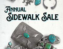 Sidewalk Sale Mailer - Four Winds Gallery