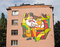 Mural: Ethno - Pair