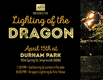 Design for Lighting of the Dragon Event