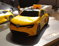 Renault Clio V6 vision - The 1:43 model