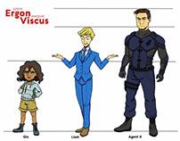 Ergon Viscus - Character Design