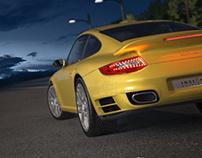 WIP 3D Porsche 911 turbo.
