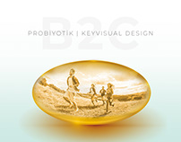 Solgar | Probiyotik Keyvisual Design