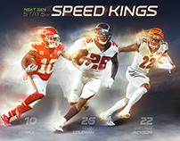 Next Gen Stats: Speed Kings Mock Up