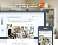 Newsletter Proposal for IKEA Family Members