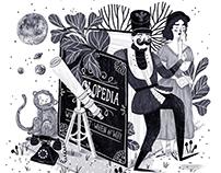Alphabetaria - illustrating concepts letter by letter
