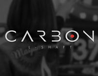 CARBON shaft. Branding and packaging.
