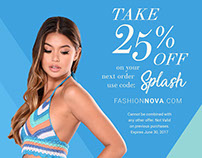Fashion Nova - Get Featured Post Card