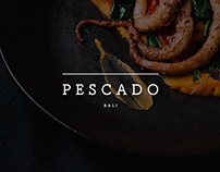 PESCADO - branding, visual identity.