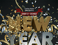 New Year Eve Flyer and Poster Template