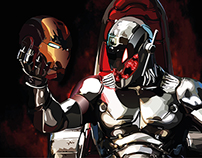 Ultron VS Iron Man