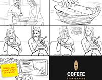 Nestle Winiary taste cube commercial - storyboard
