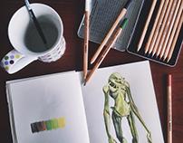 Alien Toy (sketch)