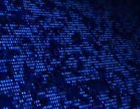 Digital Computer Numbers of Data Screen 4K