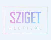 SZIGET - Indie Festival - Identidad