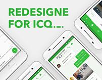 ICQ redesigne